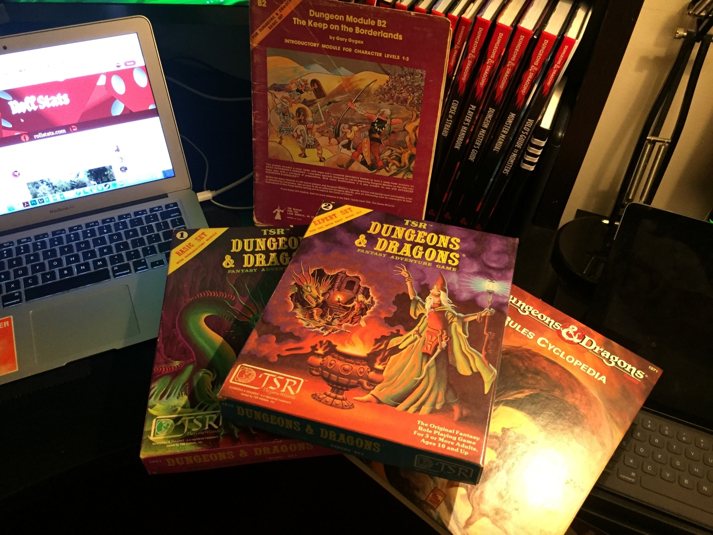 OG Dungeons & Dragons Materials