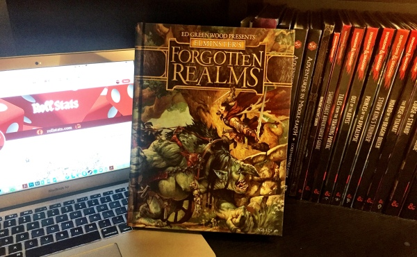 Follow @Rollstats on Twitter for your chance to win this brand new D&D Supplement!