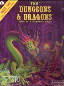 Moldvay Dungeons & Dragons Basic Boxed Set
