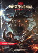 The Dungeons and Dragons Fifth Edition Monster Manual