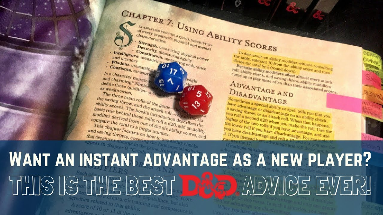 The best Dungeons & Dragons advice for new players