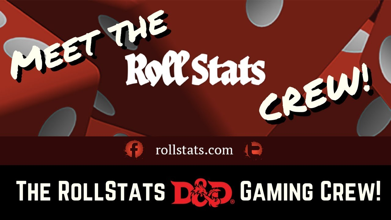 Meet the RollStats D&D 5e Players